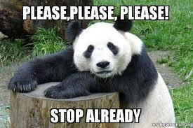 stop panda